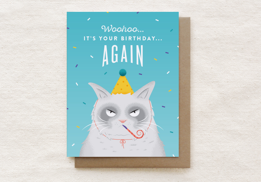 202-C: GRUMPY CAT BIRTHDAY