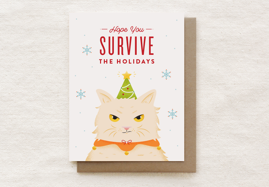 212-C: GRUMPY CAT HOLIDAY