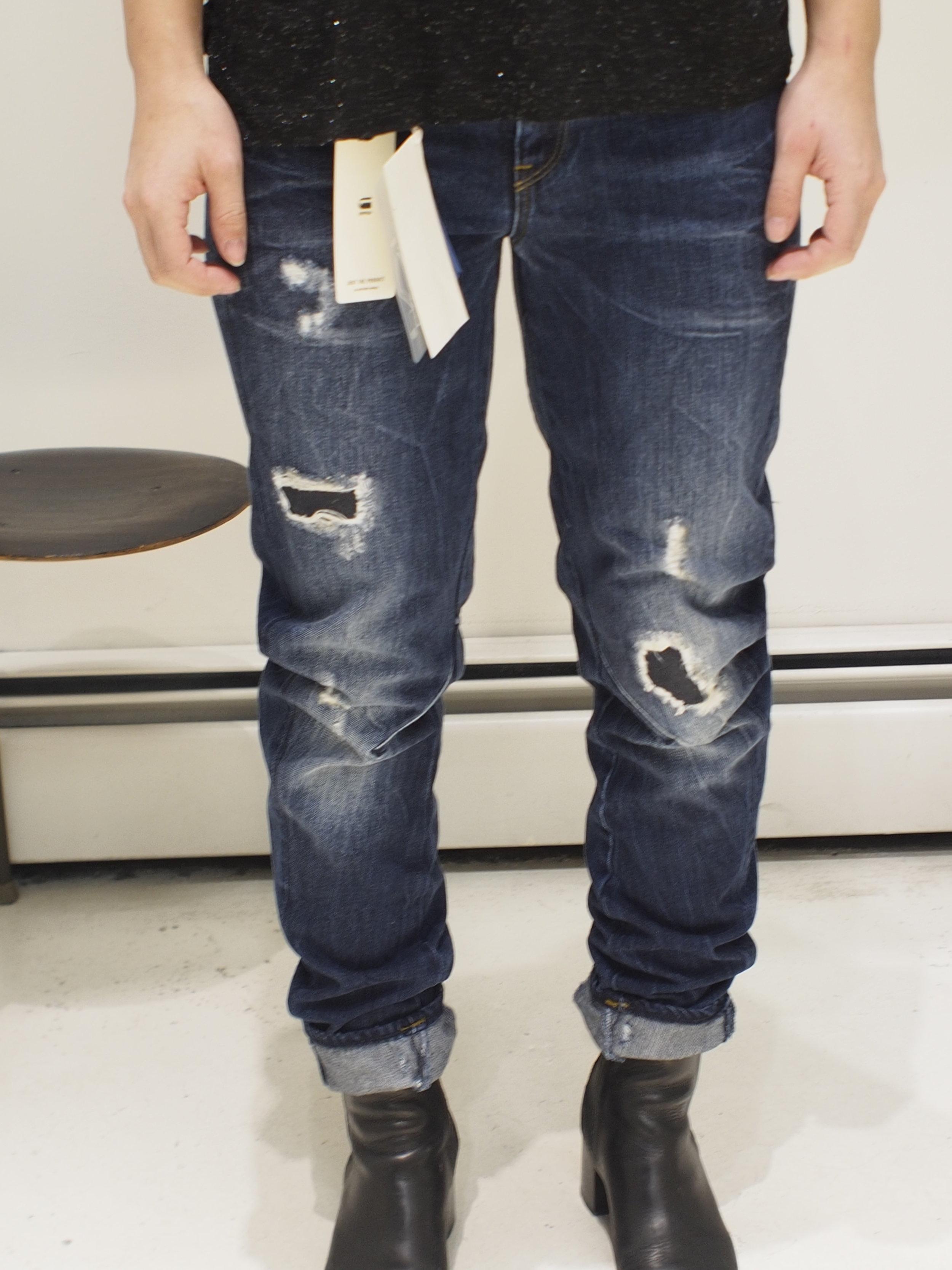 b1ff052cb38f G-Star ARC 3D Low Boyfriend Jeans - Dark Aged Restored 106 — global ...
