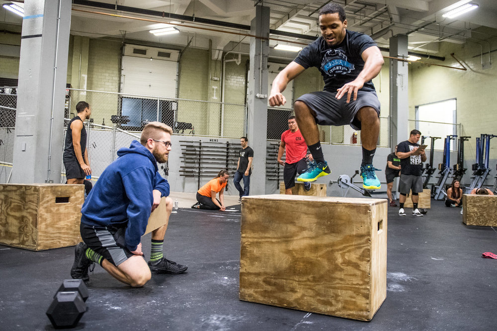 CrossFit Athletics strives to create a strong community within the Pittsburgh fitness world. Photo: Chris Nolan, MetCon Photos