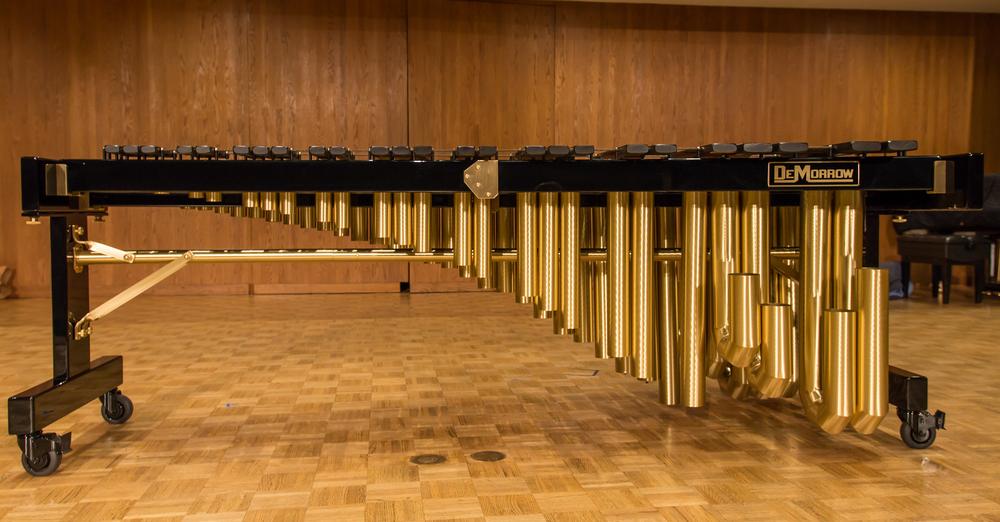 5 octave Gordon Stout all wood black polished frame