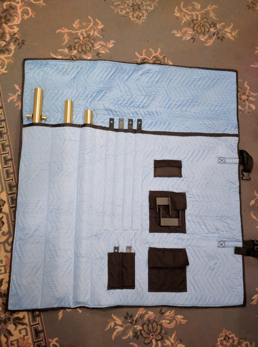 Braces, resonator hangers, nuts & bolts ($250)