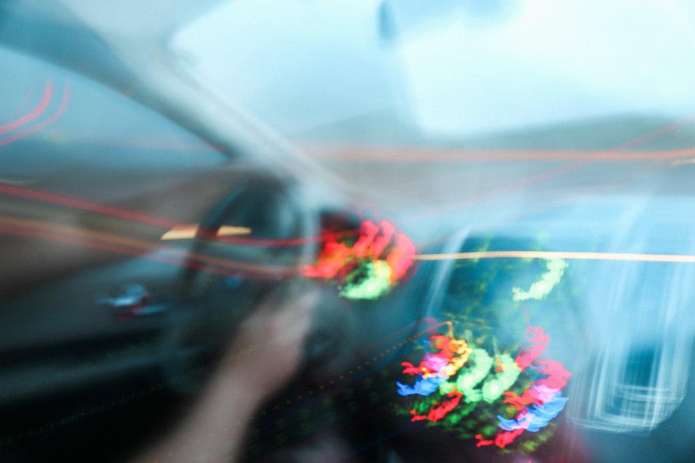 night drive - Alexandria Whitefeather