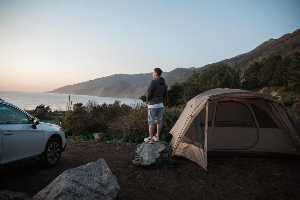 Camping in Big Sur, California, Travel and Lifestyle Blog | Alexandria Whitefeather