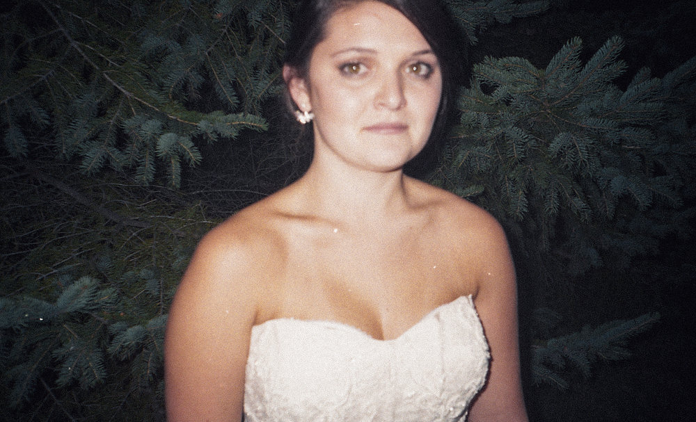 Mikaela outside after her wedding day