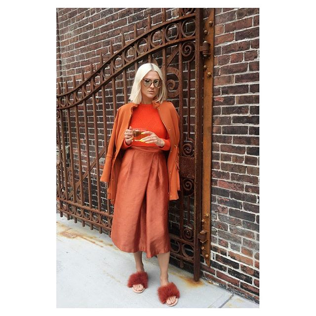 Got my first psychic reading and found out that my aura is burnt orange💥feeling magical in this color💥 thanx for capturing my physical aura @ch_restrepo