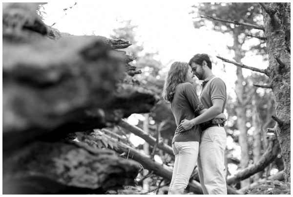 blue ridge mountains-engagement-session-rustic-forest-fog-rain-ashville_0007
