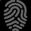 keep it frank thumb print icon