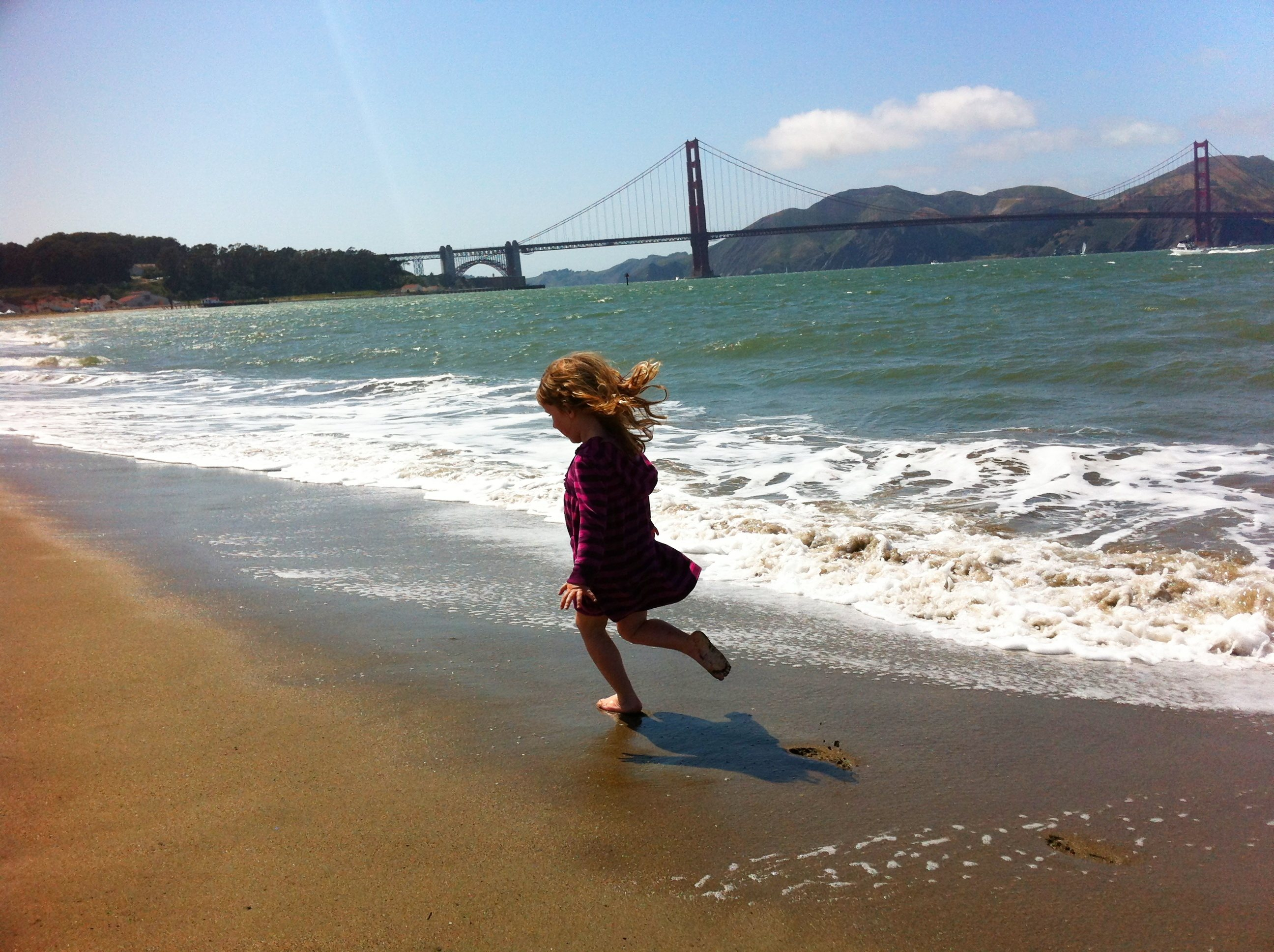 Small version Lily and the GGB on 75th bday.jpg