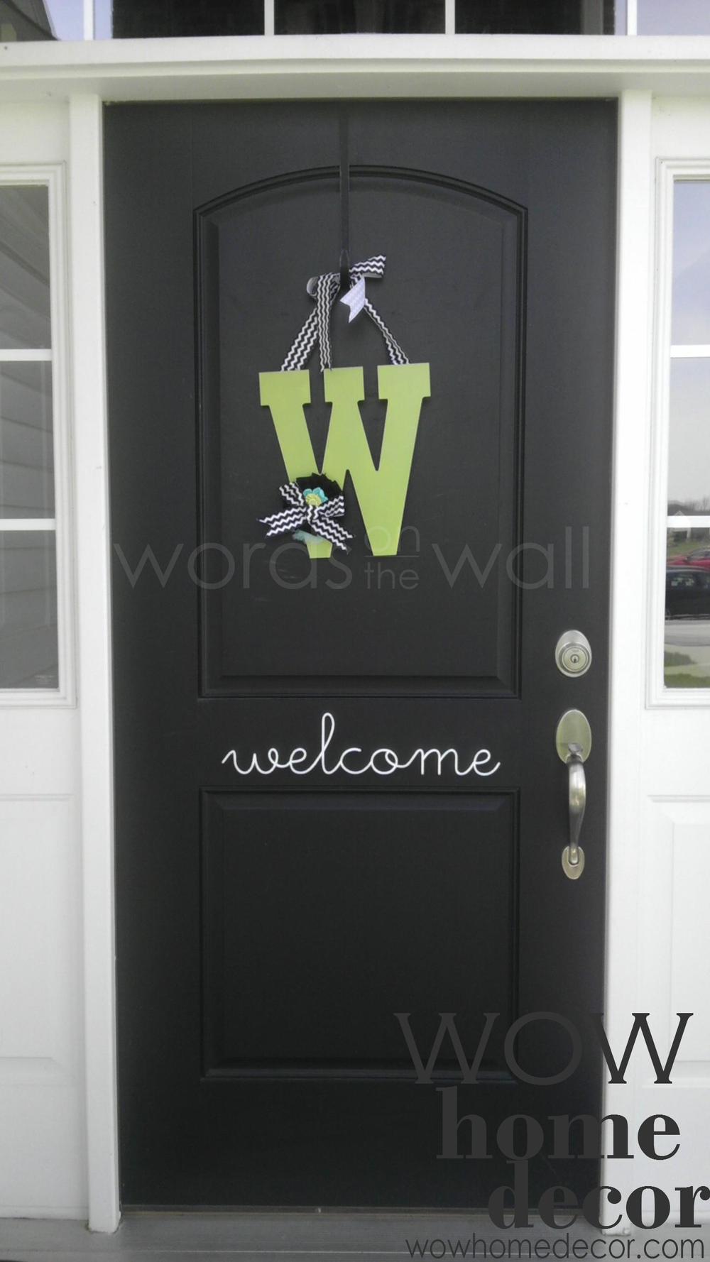 Hello Front Door Decal & Hello Front Door Decal u2014 WOW Home Decor
