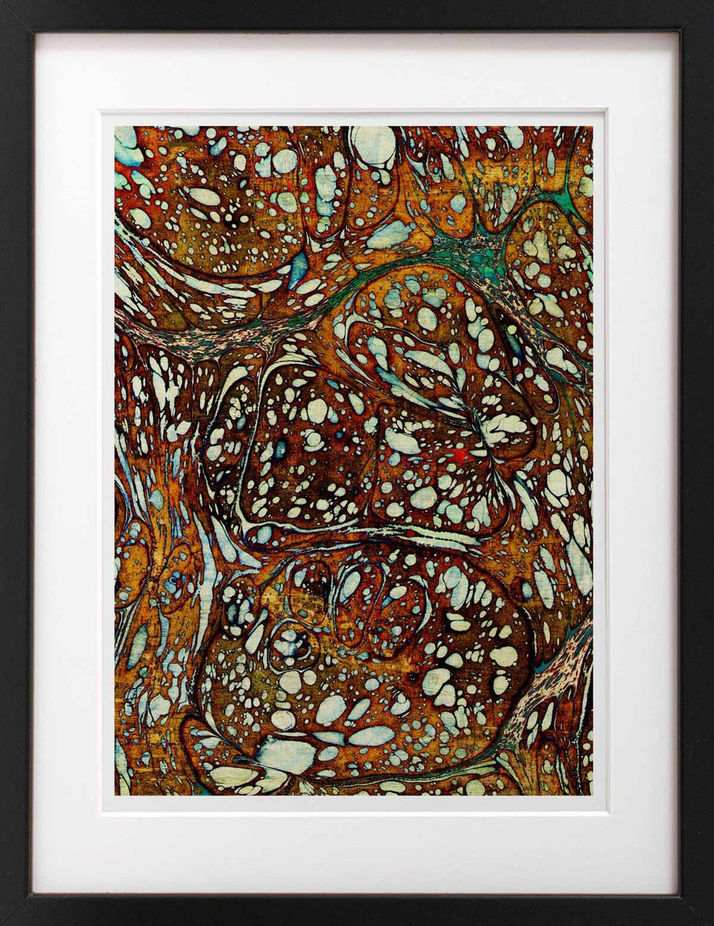 Batik,  2015 Digital print Fine art archival paper