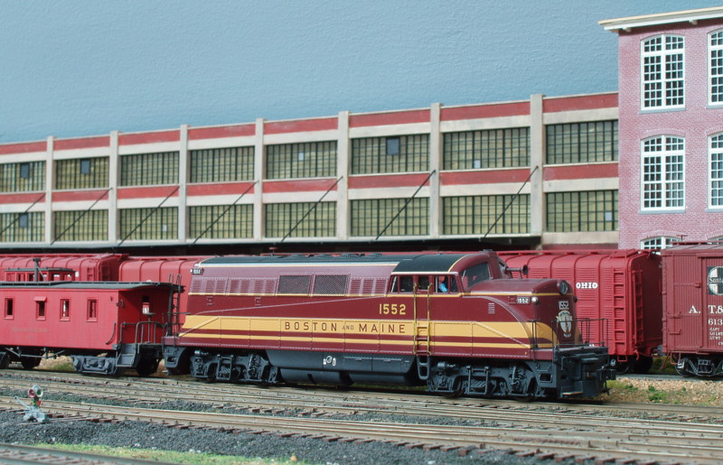 A Life-Like model of the BL-2. Submitted by Edward Ozog, Aug. 16, 2014. Boston & Maine Railroad Historical Society Archives digital image. Photo 431