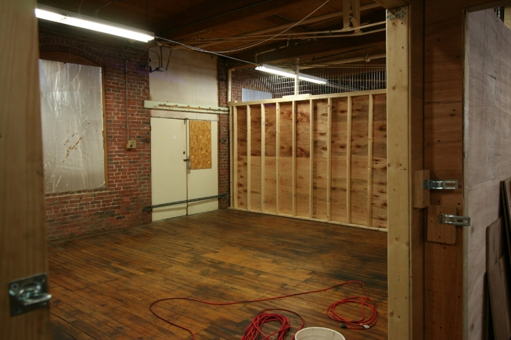 March 1, 2018. Here is the space (approx. 700 square feet) as we acquired it. Staff photo