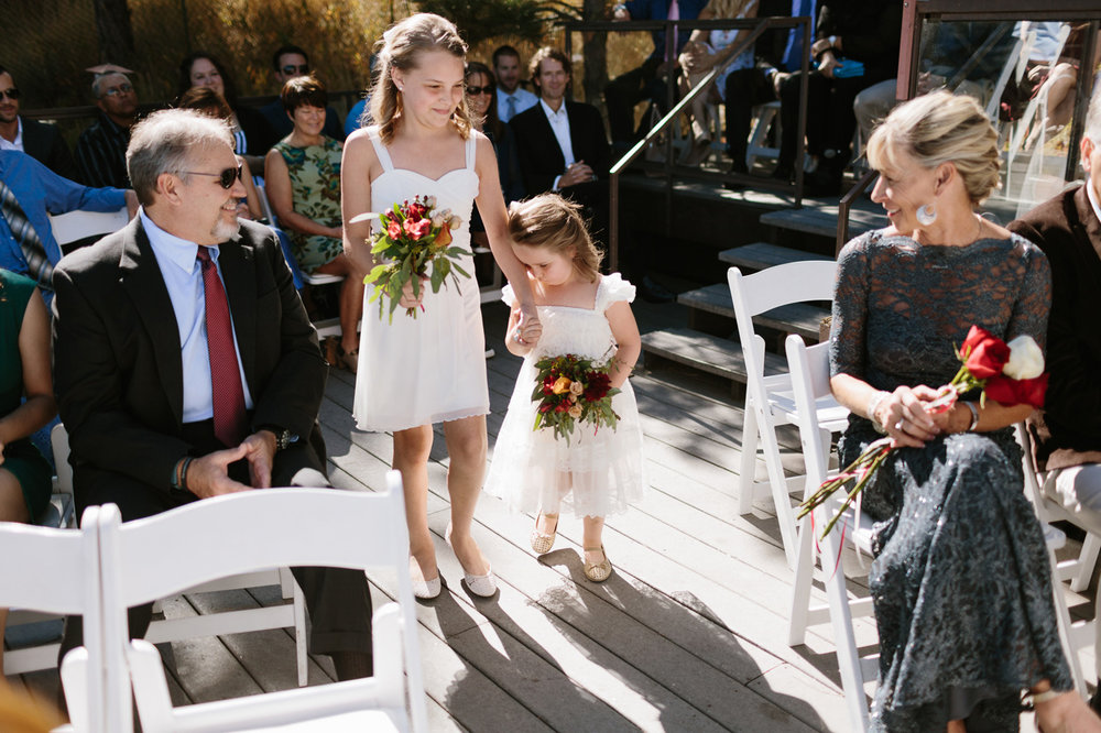 Wedding Ceremony Flower Girl