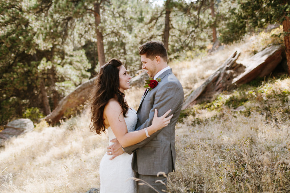 Flagstaff House Wedding Boulder Colorado Bride Groom Mountains