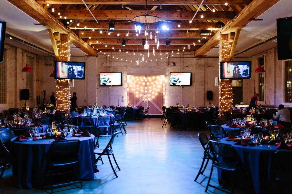 Studios at Overland Crossing Wedding Reception