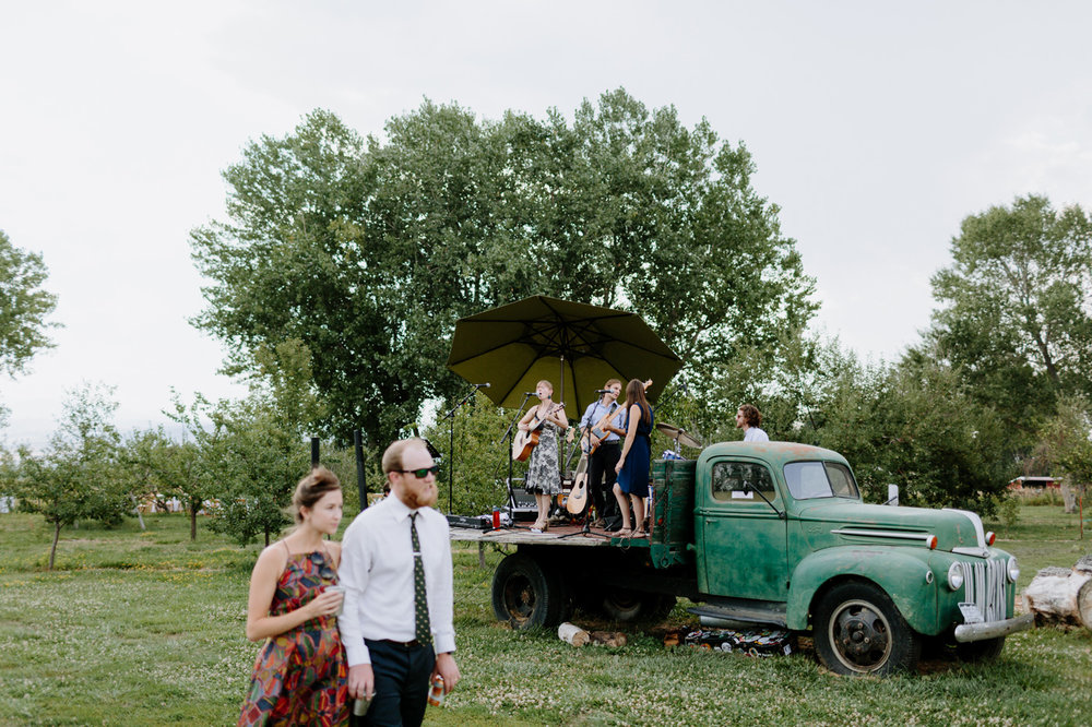 Ya Ya Farm and Orchard Wedding Reception Live Music
