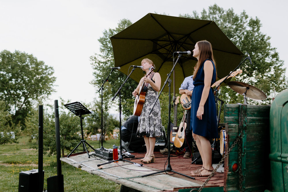 Ya Ya Farm & Orchard Wedding Reception Band
