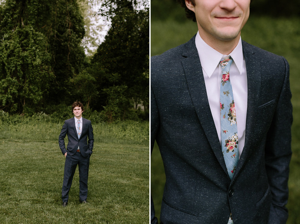 Groom Portraits Outdoors