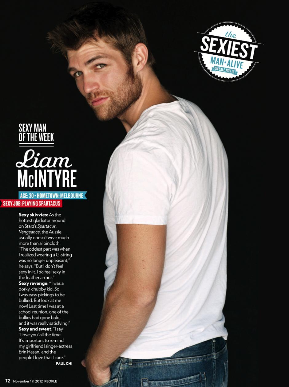 People Magazine   Liam McIntyre