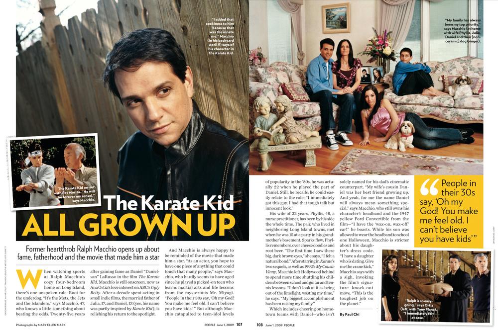 People Magazine   Ralph Macchio