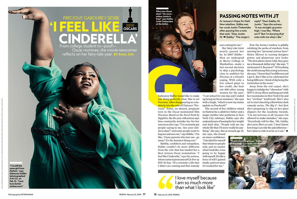 People Magazine   Gabourey Sidibe
