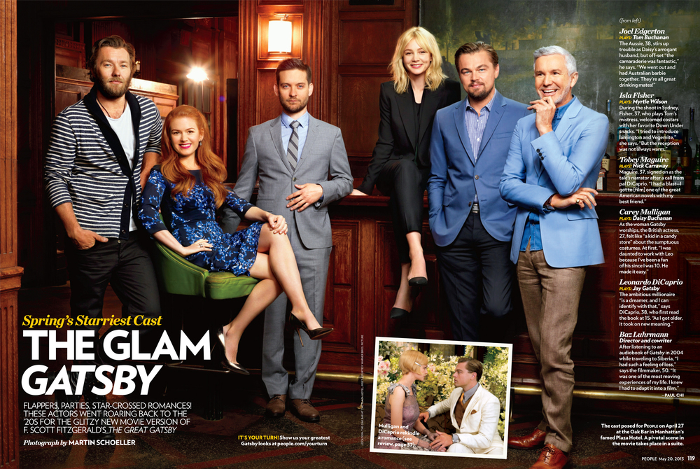 People Magazine   The Great Gatsby