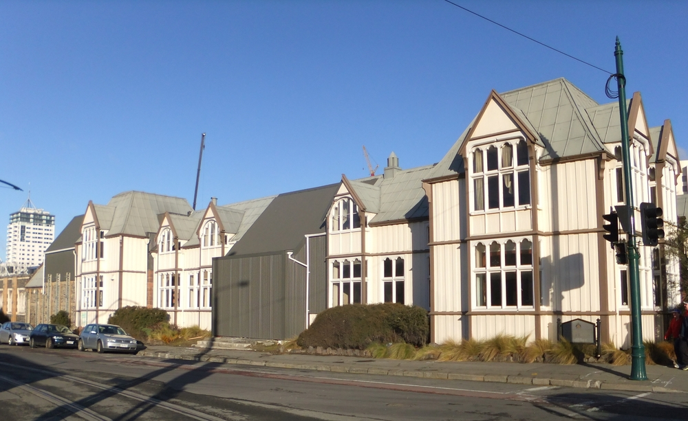 Canterbury Provincial Council Buildings Stabilisation, Strengthening and Restoration, Christchurch