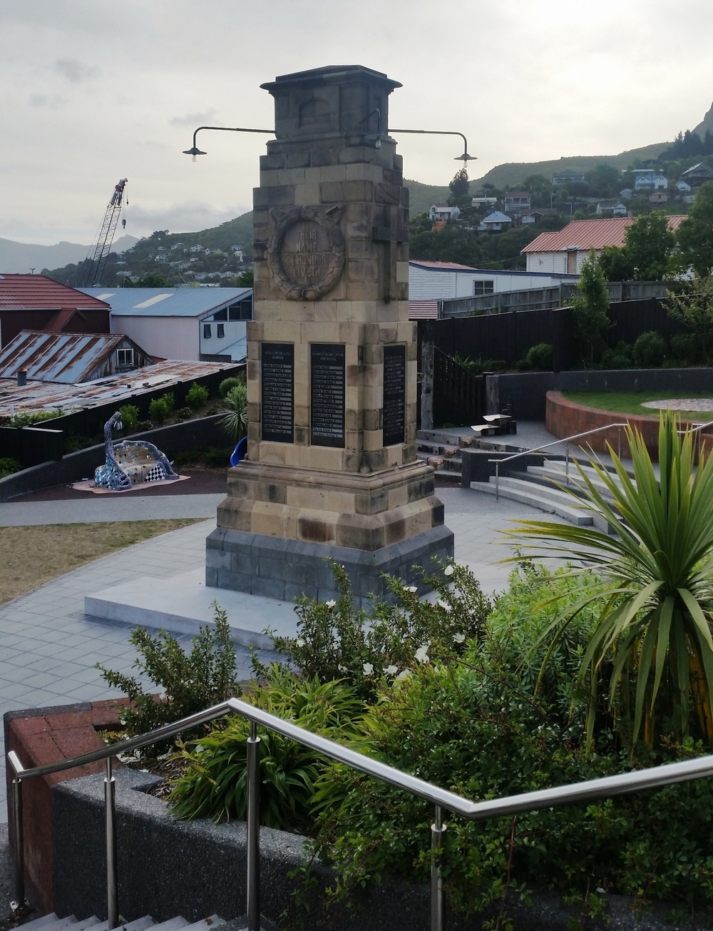 Lyttelton War Memorial Relocation and Restoration, Lyttelton