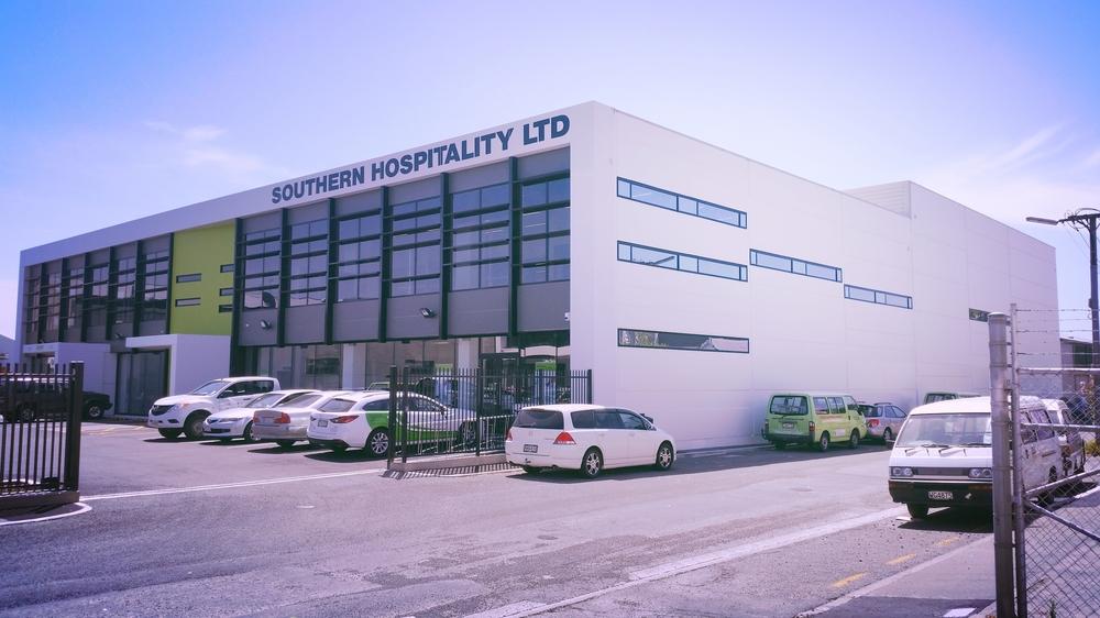 Southern Hospitality Building, Aberdeen Street, Christchurch