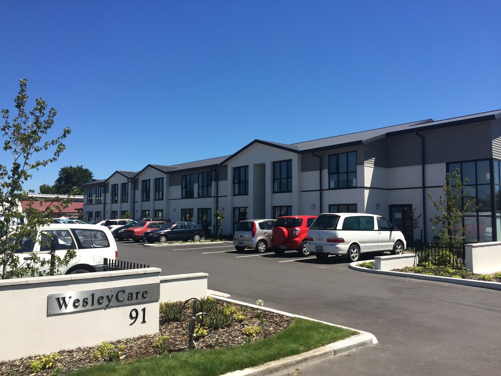 Wesley Care Resthome - Stages 1 and 2, Harewood Road, Christchurch