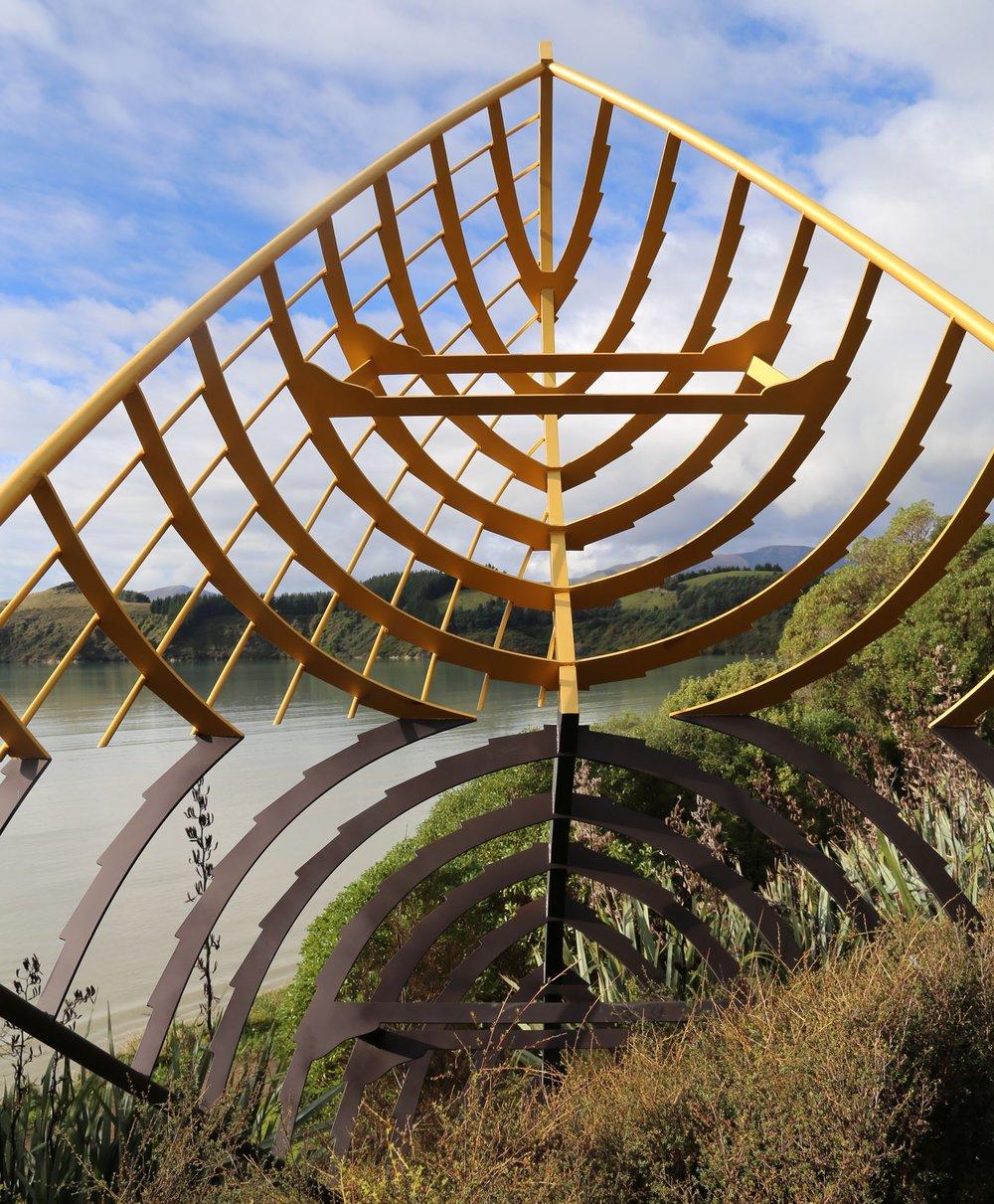 Ohinetahi Boat Sculpture, Christchurch