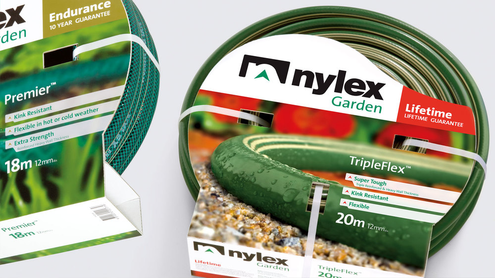 Nylex Hoses retail packaging