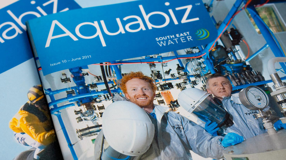 South East Water Aquabiz publication