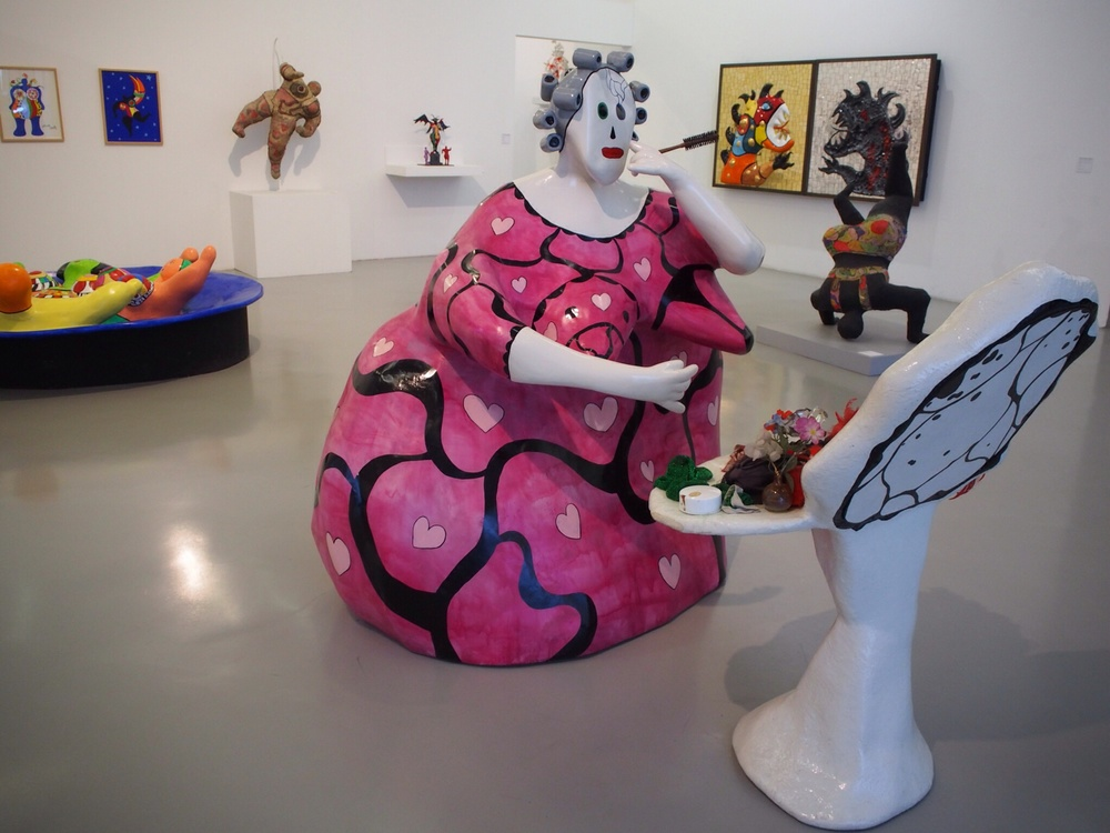 Niki de Saint Phalle, sculpture artist from France