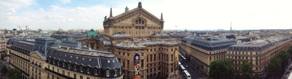 Panoramic....spot the Eiffel....