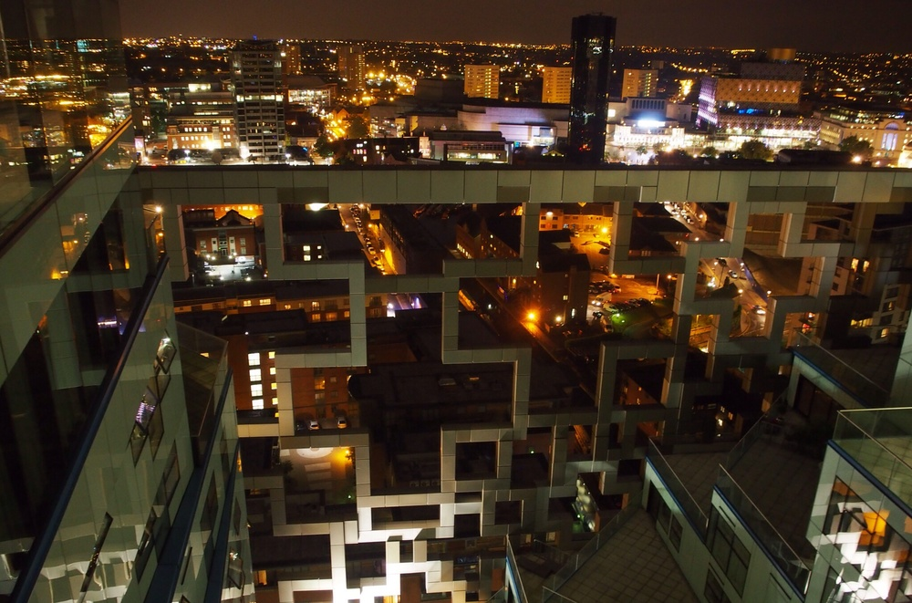 View over Birmingham from the Cube