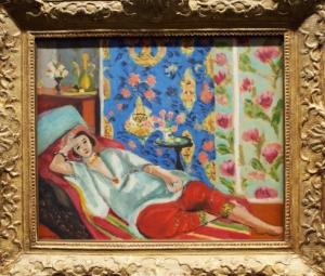 Henri Matisse, Odalisque á la Culotte Rouge