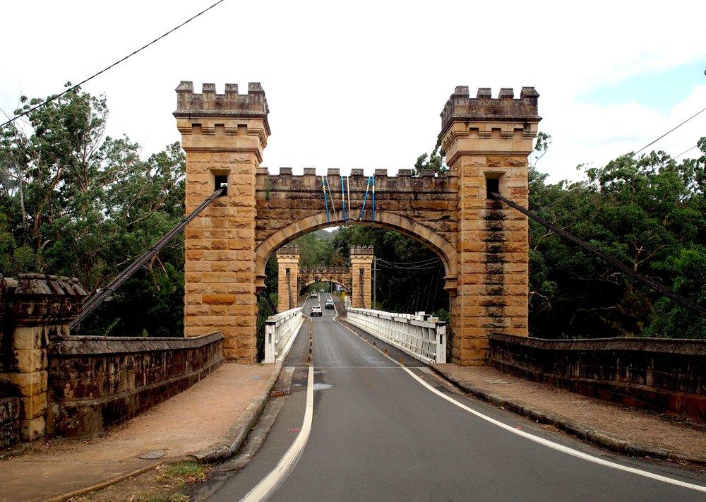 The iconic Hampden Bridge.