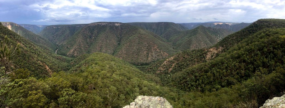 From Badgery's lookout over the Shoalhaven River, Morton National Park.. Stunning