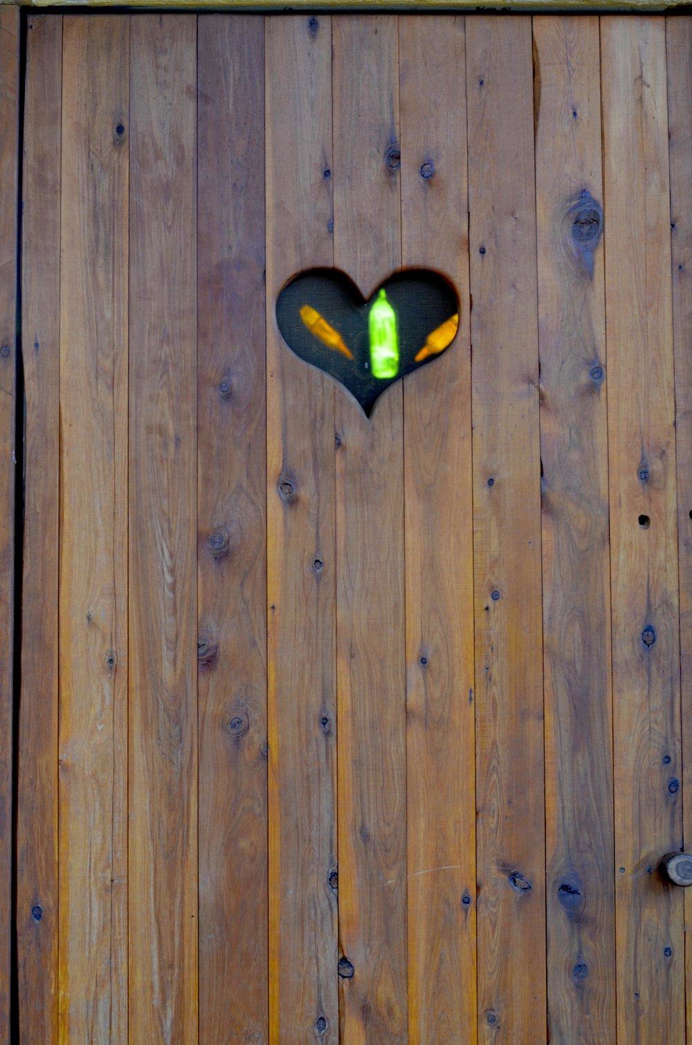 the detail ~ dunny door