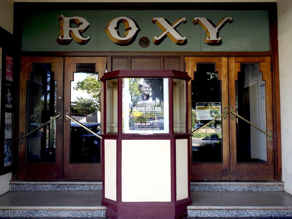 Roxy theatre in Inverell