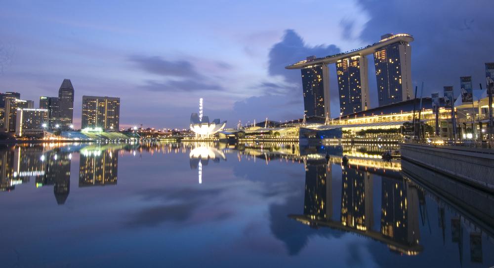 Marina Bay Sands at 645am - A Surreal Morning
