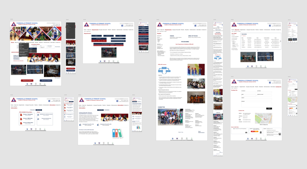 School Website   Case Study -