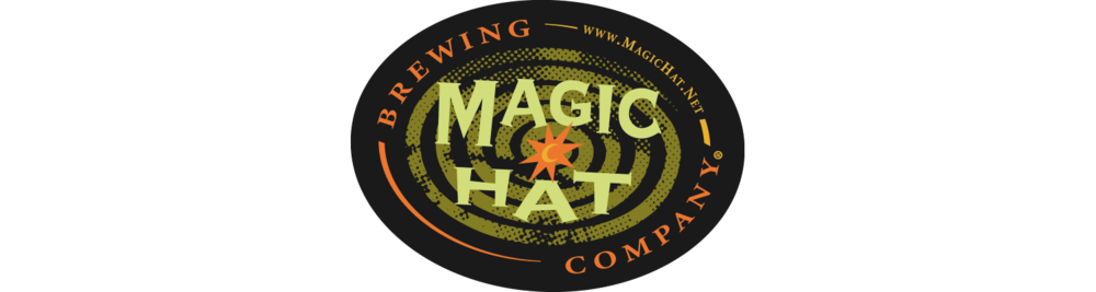 Magic Hat Brewing Co. started as a collaboration between serial entrepreneur Alan Newman and his former employee, home brewer Bob Johnson. They visited 33 craft breweries in 10 days to get inspiration for the beers they wanted to produce. From this Bob came up with unique recipes to make every bottle of craft beer a performance. With a line-up of  2 year-round beers, and a changing line up of seasonal and experimental beers, you're sure to find a performance you enjoy.