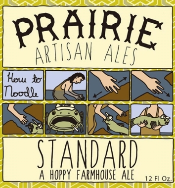 Prairie Standard Its a light, crisp saison with a hoppy finish. This beer is dry hopped 1lb per bbl with Motueka hops. A lovely New Zealand hop with a spicy lime like flavor and aroma. 5.2%ABV, Saison