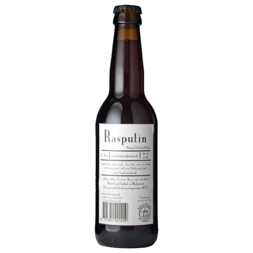 De Molen Rasputin An excellent Dutch imperial stout with smoky malts & a hoppy finish. 10.7%ABV, Imperial Stout