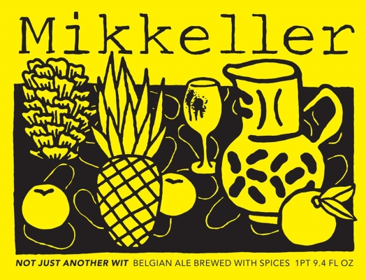 Mikkeller Not Just Another Wit    Not just another wit beer. The style taken to another level. Strong and hoppy.    7.6%ABV, Belgian White