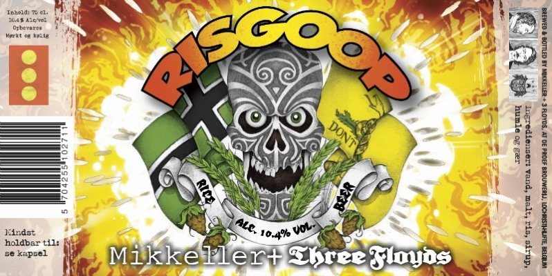 Mikkeller/Three Floyds Risgoop   A delightful Rice Wine brewed by Three Floyds and Mikkeller. This complex ale is just the beverage for canal boat trips in Copenhagen or the brutal Chicago winter.    10.4%ABV, Rice Wine