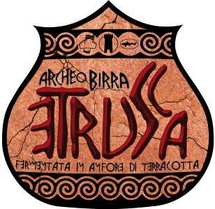 Birra del Borgo Etrusca The amber colour reminds the amphora-aged wines and gives off scents of honey and berries and quite uncommon mineral notes.  9.3%ABV, Amber Ale